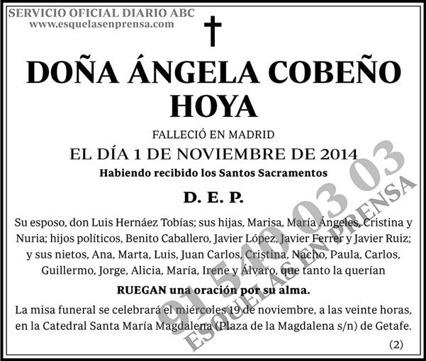 Ángela Cobeño Hoya